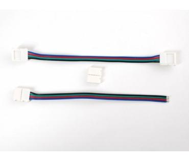 A1004 Forraszttás nélküli csatlakozó RGB LED szalaghoz