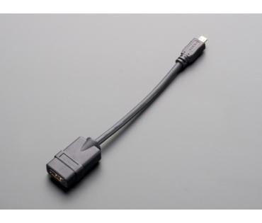 A1358 Micro-HDMI dugó / HDMI aljzat adapter kábel