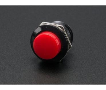 A1445 Nyomógomb 16-os furathoz-piros