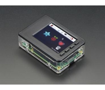 PiTFT Plus Touch display és Pi doboza A2807+A2253