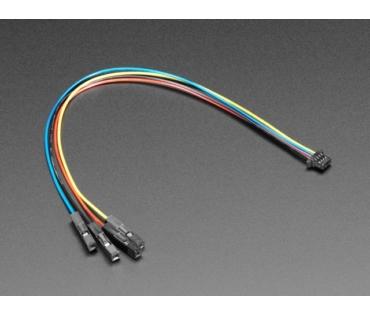 STEMMA QT / Qwiic JST SH 4-pin mama Jumper kábel 150mm
