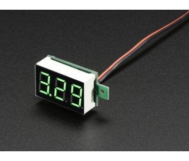 A460 Mini 2-vezetékes feszültségmérő panel 3.2 - 30Vdc