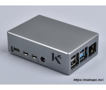 KKSB alumínium doboz Raspberry Pi 4-hez