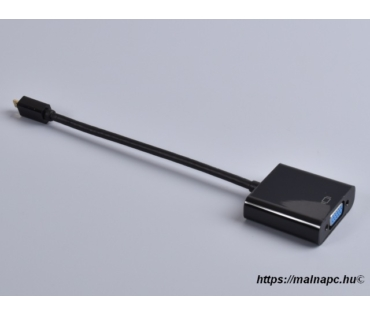 Micro HDMI - VGA átalakító Raspberry Pi 4-hez