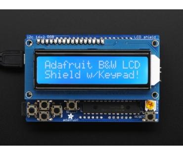 A772 kék-fehér 16x2-es LCD + tasztatúra KIT