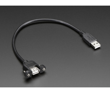 A908 USB-A toldó kábel előlapi aljzattal