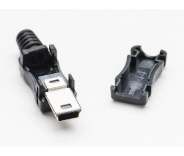 A1389 USB-B Mini szerelhető lengő csatlakozó dugó