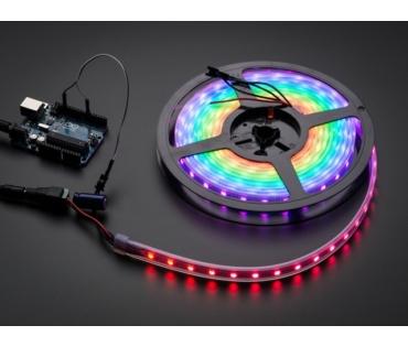 A1461 NeoPixel RGB LED Szalag - fekete 60 LED - 1m
