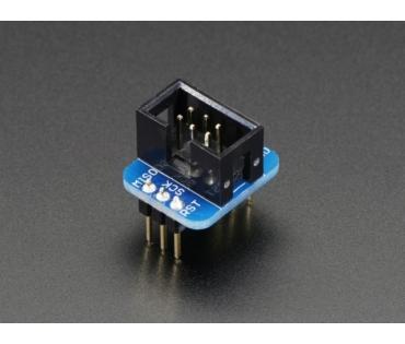 A1465 AVR ISP 6 pólusú adapter csatlakozó próbapanelhez