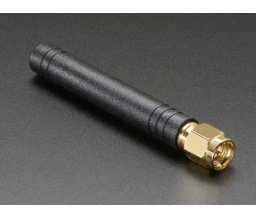 A1859 Mini GSM/Cellular Quad-Band Antenna - 2dBi SMA Plug