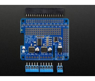 A2348 DC & Stepper Motor HAT for Raspberry Pi - Mini Kit