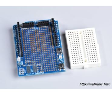 Arduino UNO-hoz prototípus panel