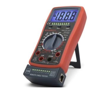 Kéziműszer MX25331 Digit műszer Kábelteszter (600V 10A)