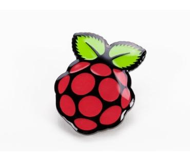 Raspberry PI kitűző