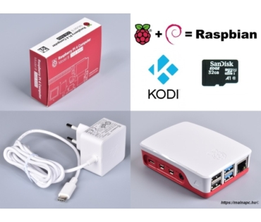 Raspberry Pi 4 Official KIT 4GB RAM / NOOBS 32GB