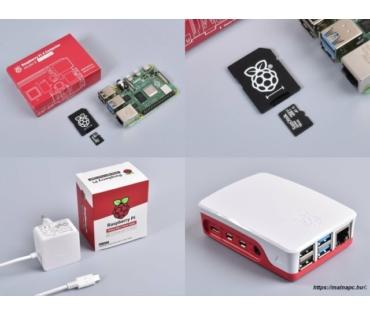 Raspberry Pi 4 Official KIT 4GB RAM / NOOBS 16GB
