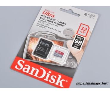 Sandisk 32GB microSD Ultra kártya