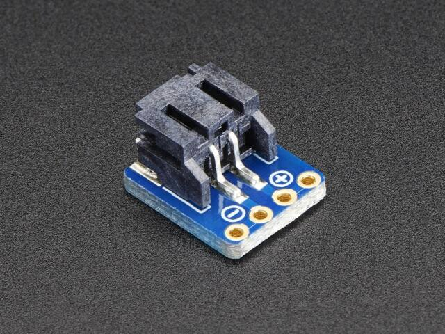 A1862 JST-PH 2-Pin SMT Right Angle Breakout Board