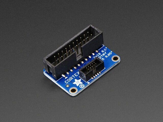 A2094 JTAG/SWD adapter panel 2x10pin 2.54mm / 2x5pin 1.27mm