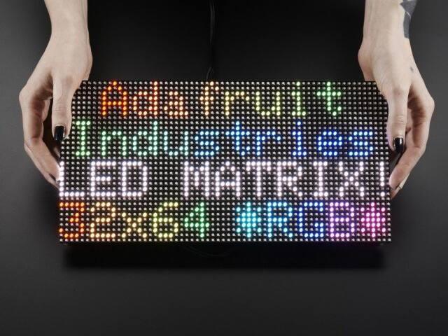 A2277 64x32 RGB LED Matrix - 5mm pitch