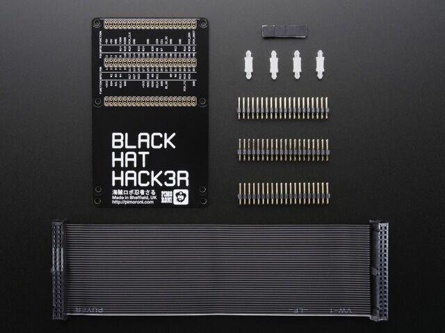 A2339 Pimoroni Black HAT Hack3r Mini Kit