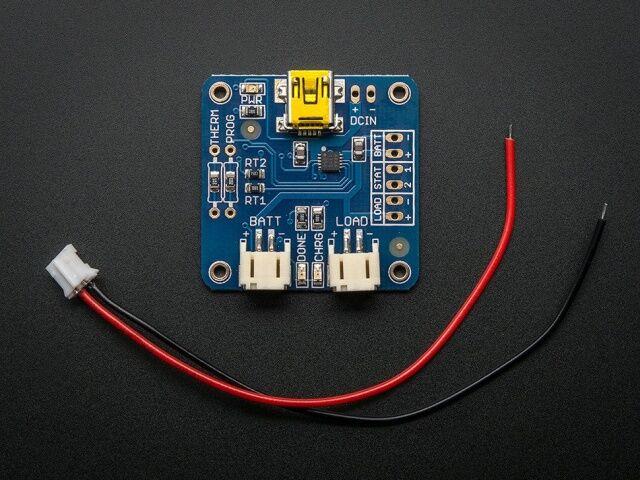 A259 USB LiIon/LiPoly töltő - v1.2
