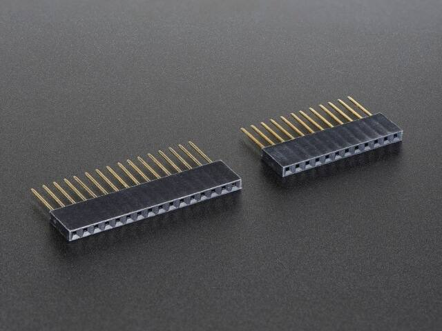 A2830 Feather Stacking Headers - 12-pin and 16-pin