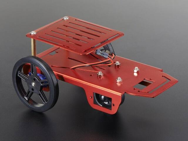 A2939 Rover robot alváz kit 2-4WD - 2 DC motorral