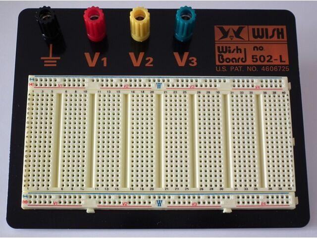 Próbapanel 125x160 forrasztás nélküli 800 pont