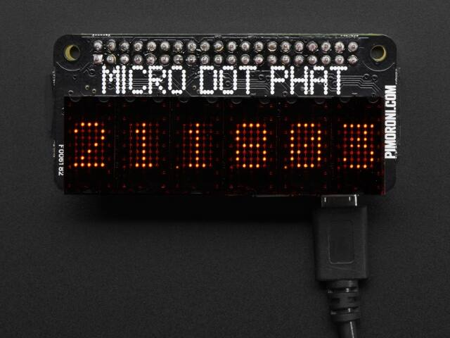 A3248 Micro Dot pHAT with Included LED Modules - Red