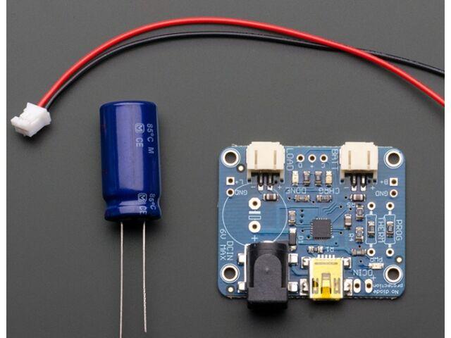 A390 USB/DC/Solar Li-Ion/Polymer töltő áramkör