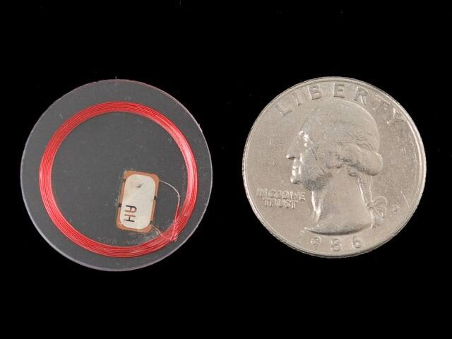 A361 MiFare Classic 1KB 13.56MHz RFID/NFC Tag - átlátszó