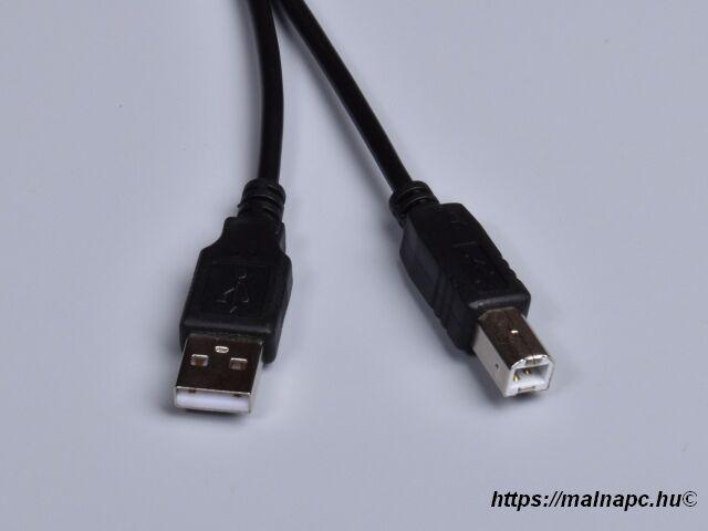 Kábel USB 3,0m-es USB 2.0 A-B csatlakozók