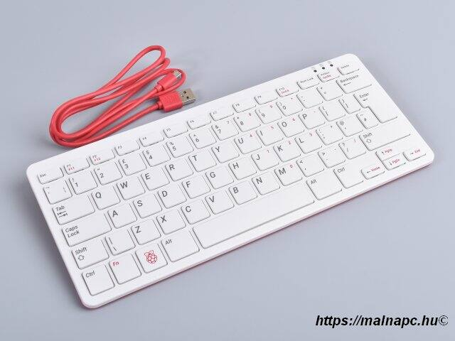 Raspberry Pi Official Keyboard & Hub RED/WHT