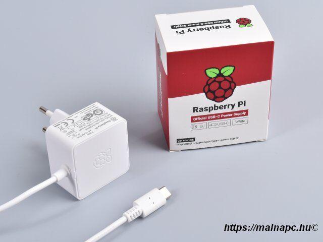 Raspberry Pi 4 tápegység