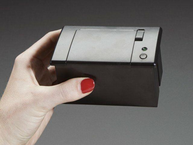 A597 Mini hőpapíros blokknyomtató