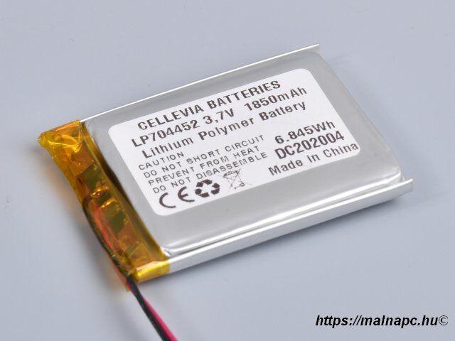 Li-Polymer akku 3.7V 1850mAh