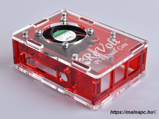Revolt Pi 4 Cool box Red