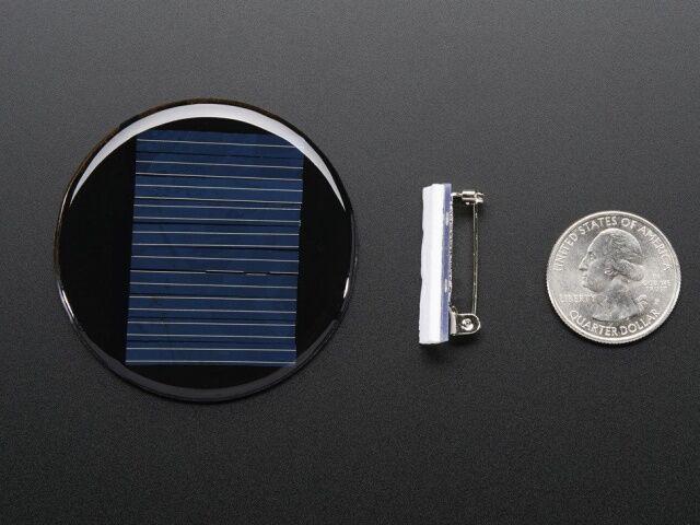 A700 Kör alakú 5V/40mA-es napelem