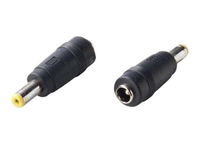Csatlakozó adapter 2.1x5.5-ről 1.5x5.5-re (S)