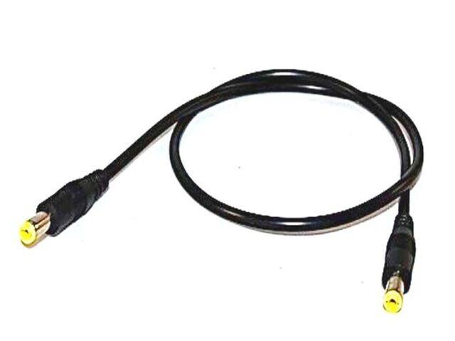 Sunny kábel 2.1x5.5-ös dugó - dugó 0.5m