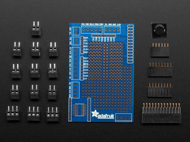 A801 Raspberry Pi prototípus panel KIT