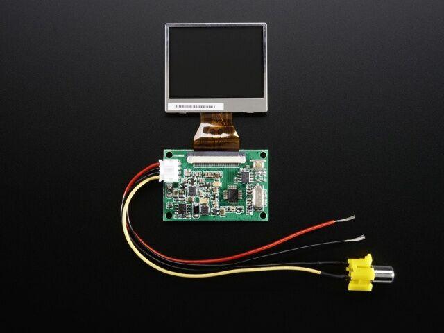 A911 NTSC/PAL (Television) TFT Display - 2.0 inch