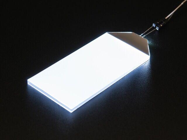 A1621 White LED Backlight Module - 45mm x 86mm
