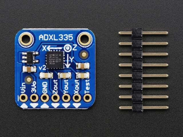 A163 ADXL335 - 5V triple-axis accelerometer
