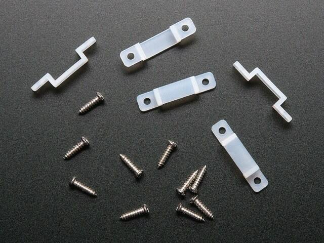 A1644 NeoPixel LED szalaghoz rögzítő szerelvény - 5db