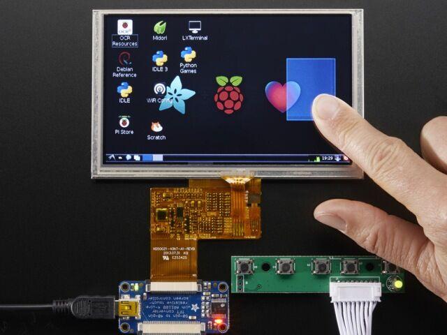 A2109 HDMI 4 Pi - 5 inch 800x480 TFT + touch + mini driver