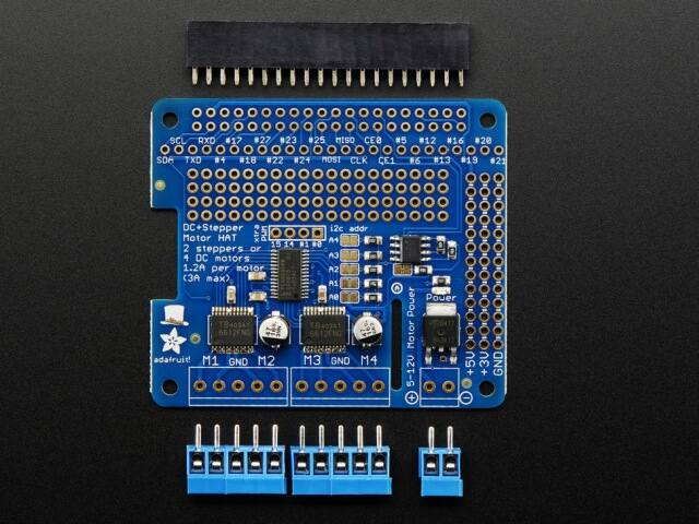 A2348 DC & Stepper Motor HAT for Raspberry Pi - Mini Kit