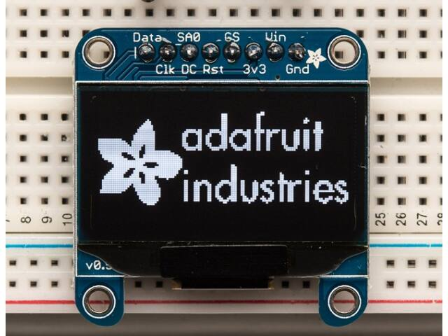 A938 OLED Display 128x64 grafikus monokrom