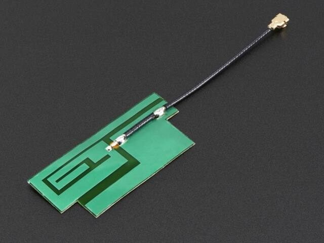 A1991 Slim Sticker GSM/Cellular Quad-Band Antenna 3dBi uFL